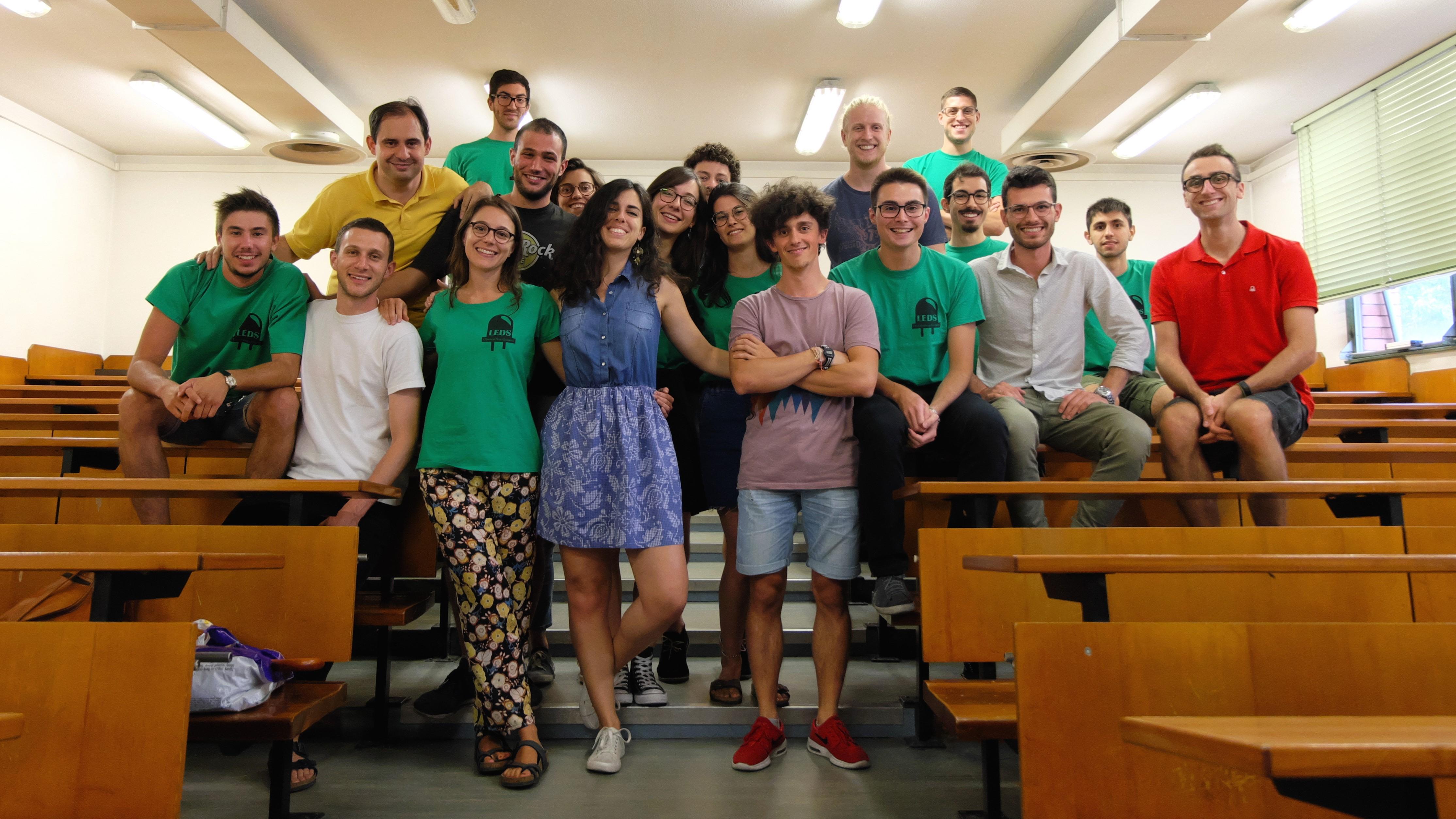 LEDS - Foto di Gruppo 2017/18 - Associazione Studentesca UNIPD