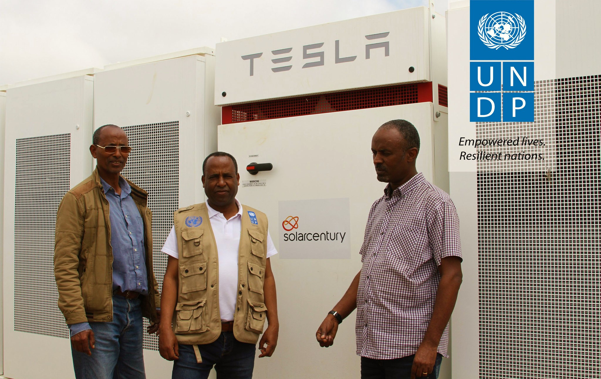 Solarcentury brings Tesla Batteries in Eritrea