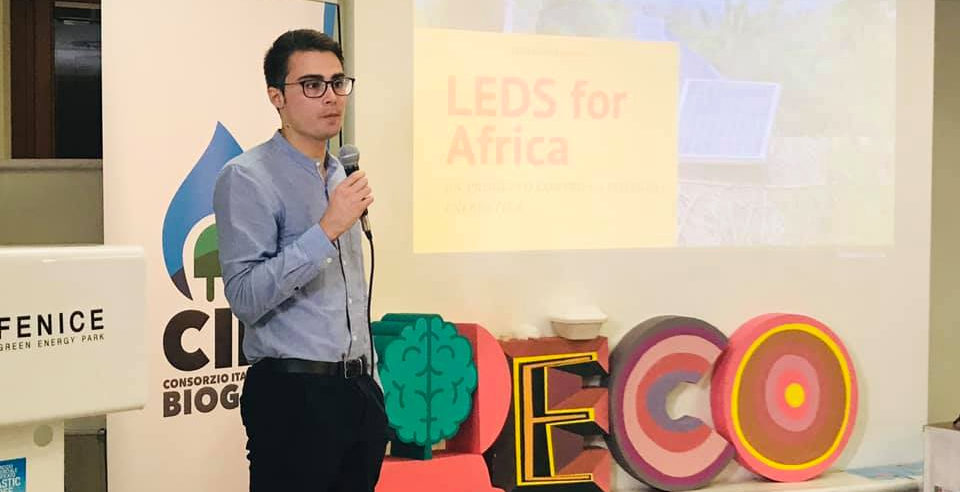 LEDS for Africa ad EcoFuturo 2019