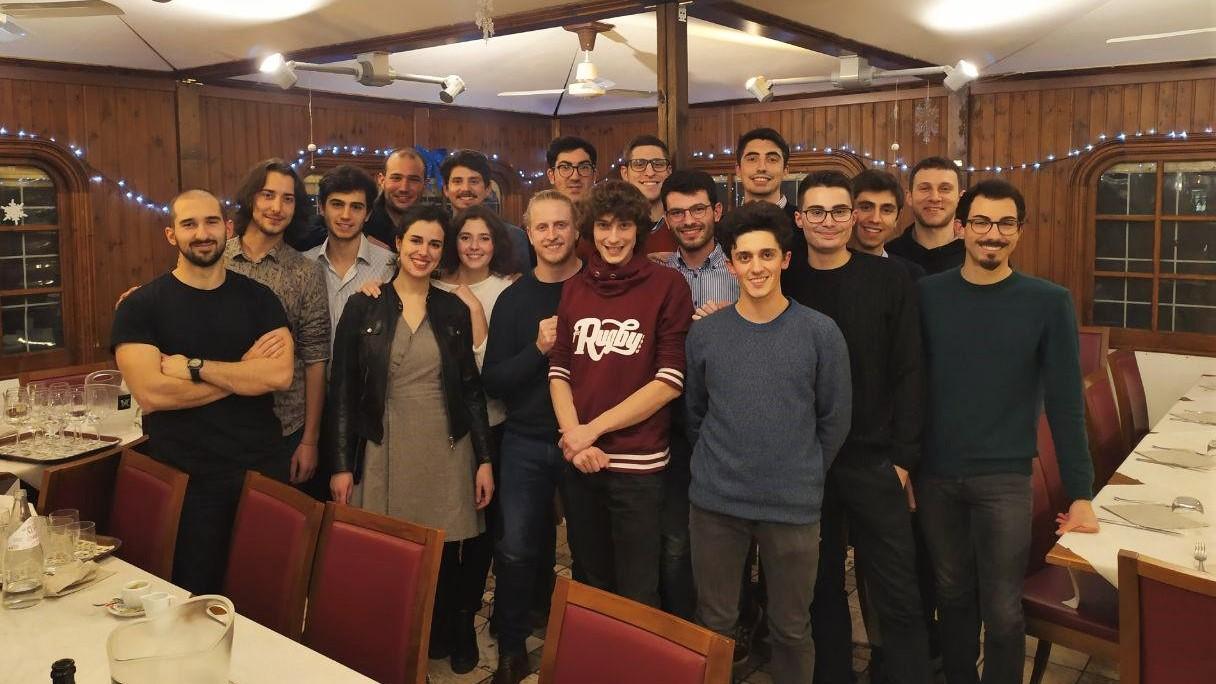 Foto di gruppo cena di NateLEDS